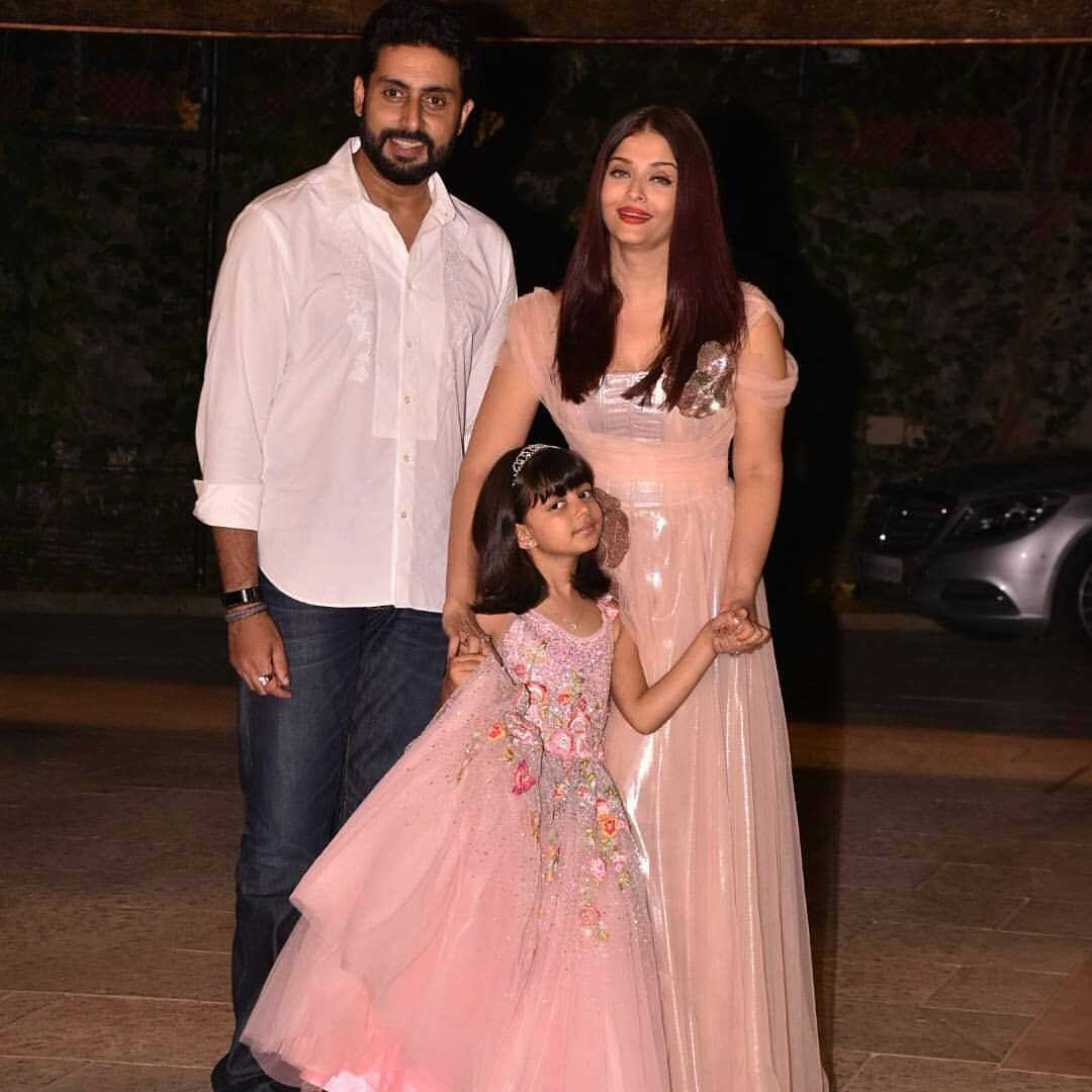 Bollywood Star Aishwarya Rai Bachchan Truly Looked Like A Princess In Gauri And Nainika's Gown