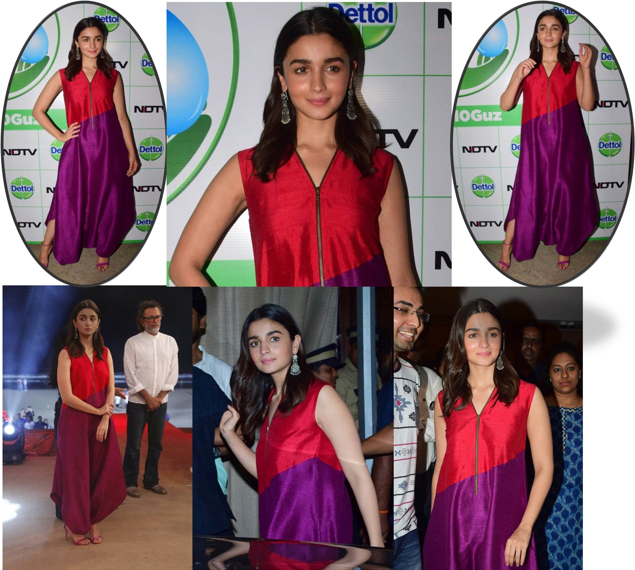 Alia Bhatt attended the Cleanathon India campaign event in Mumbai earlier today.