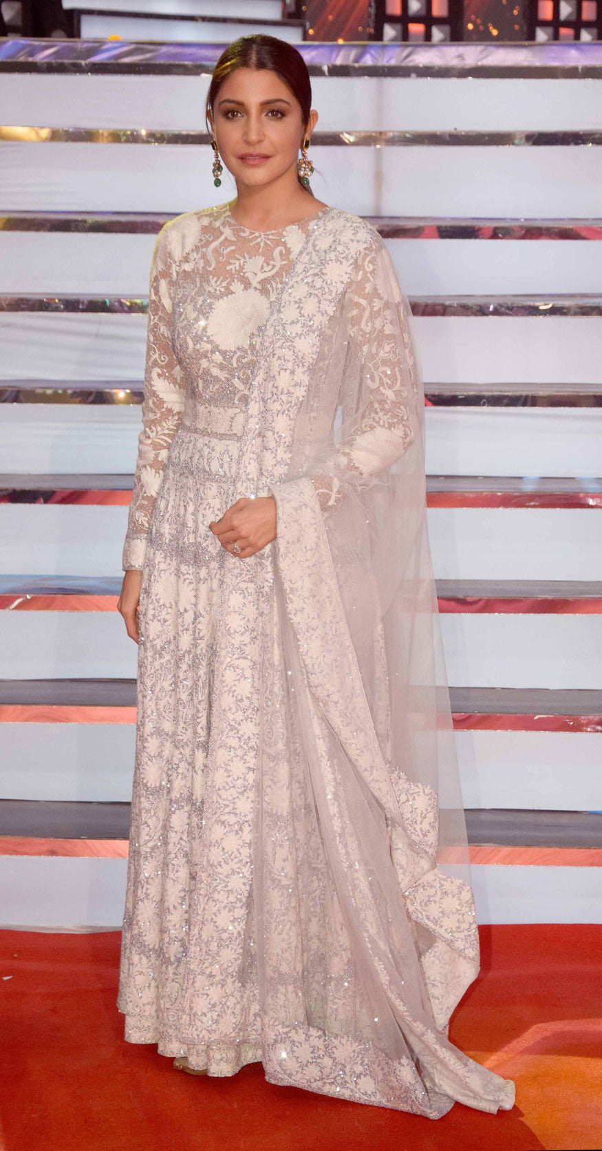 Anushka Sharma Looked Phenomenal In Embroidered Anarkali Suits