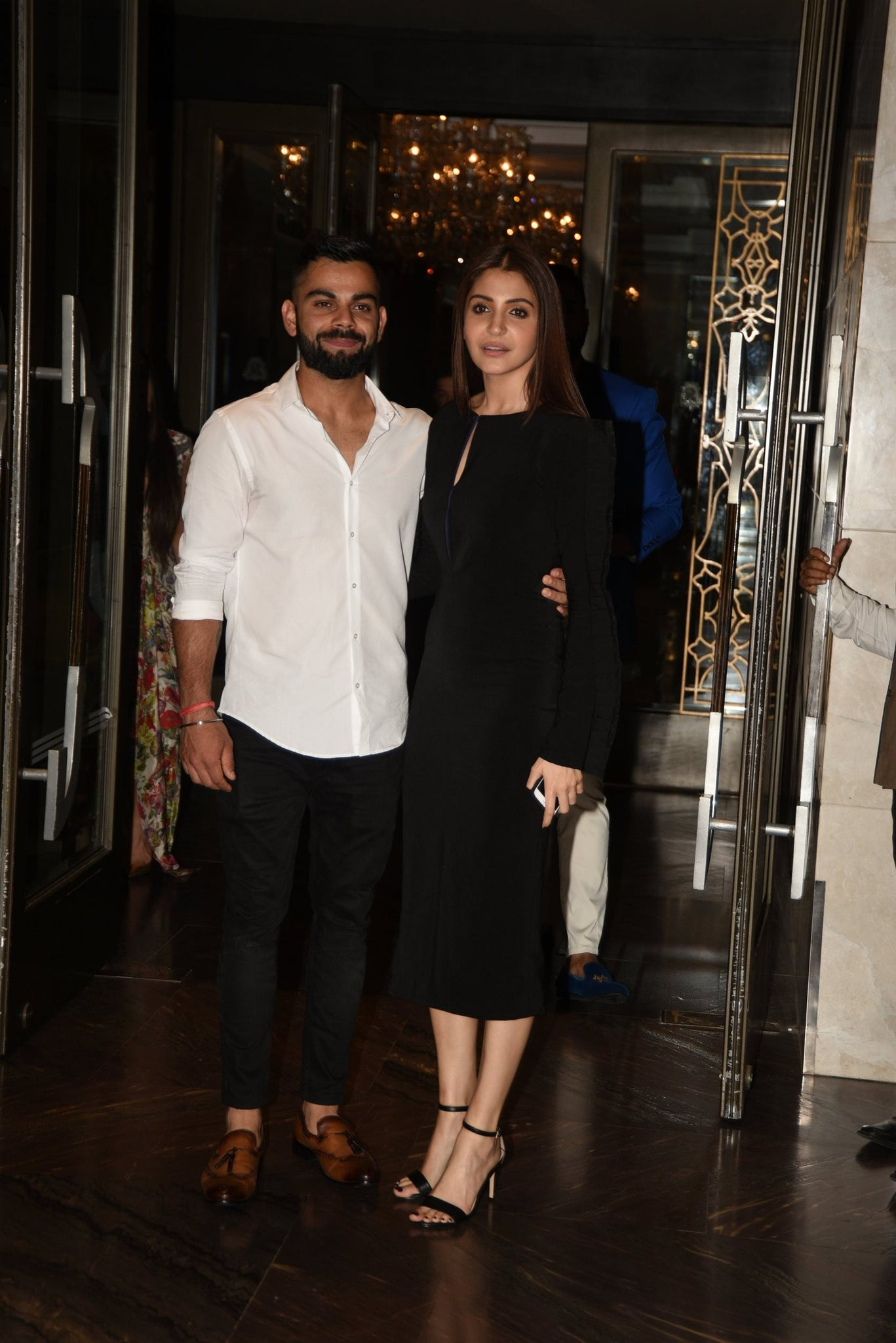 Anushka Sharma looked gorgeous in a Rutu Neeva dress