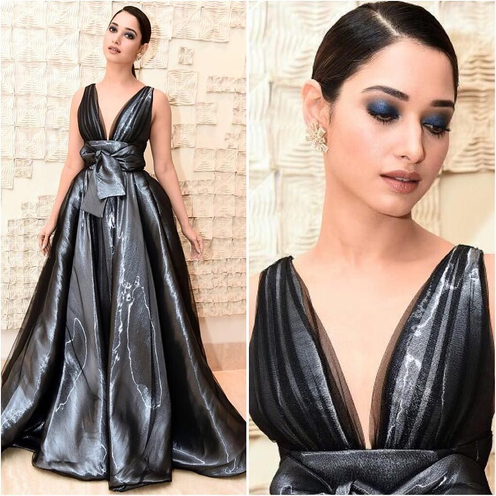 Tamannah Bhatia Looks Stunning in Peter Langer's Gown