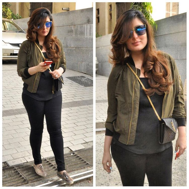 Kareena Kapoor Khan Spotted in a Chic Street Style Avatar
