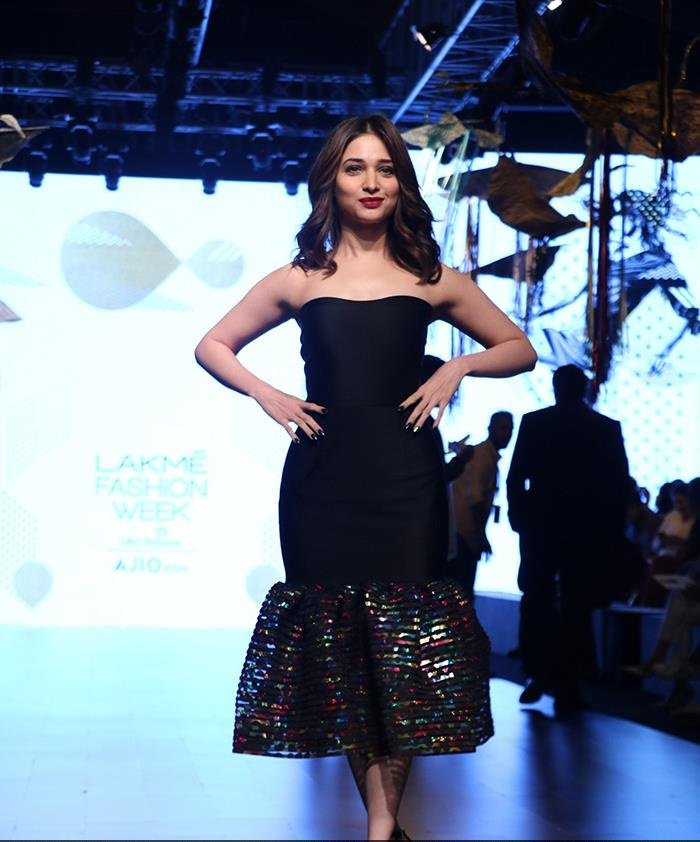 Tamannah Attended The Lakme Fashion Week Summer/Resort 2017