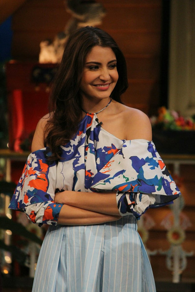 Anushka Sharma Snapped On The Kapil Sharma Show For Promote Her Upcoming Film 'Phillauri'