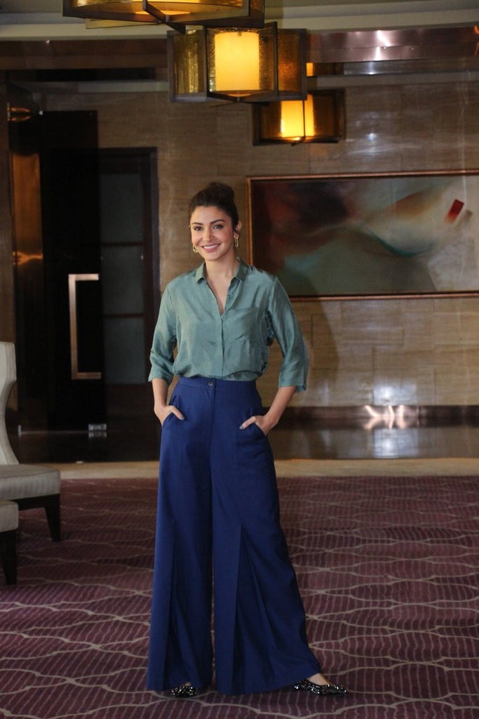 Anushka Sharma Looked  Attractive in Bodice Outfit