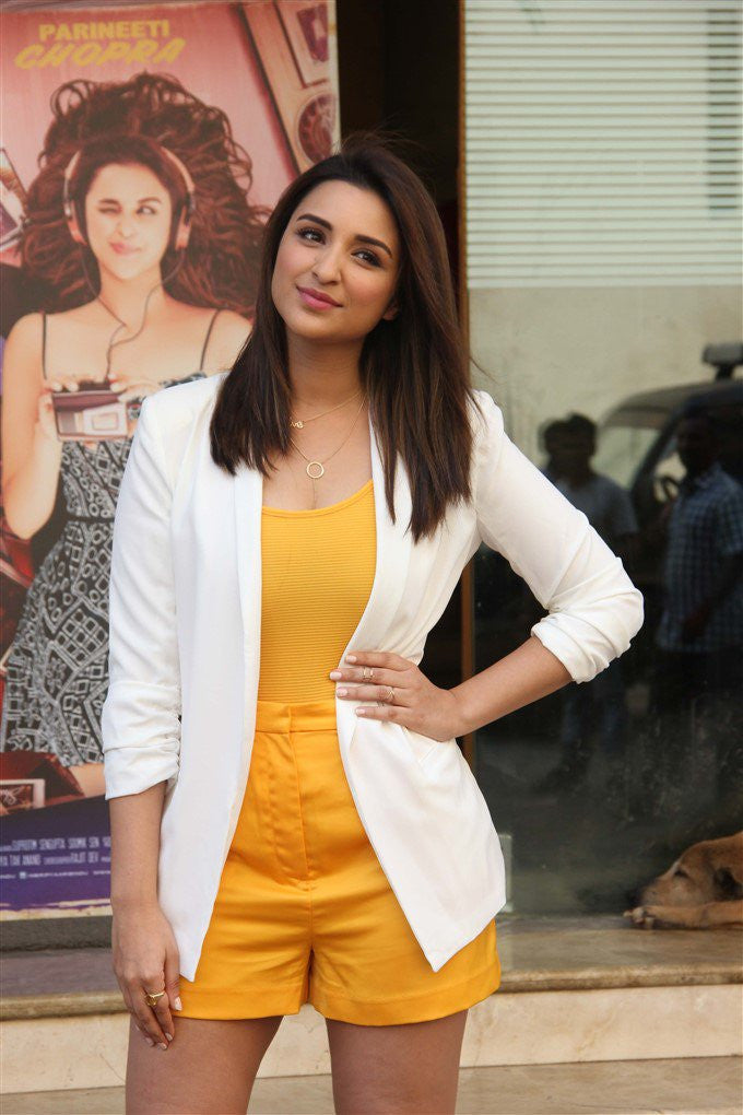 "Parineeti Chopra In H&M And Missguided Outfit At The ""'Meri Pyaari Bindu"" Trailer Launch Event"