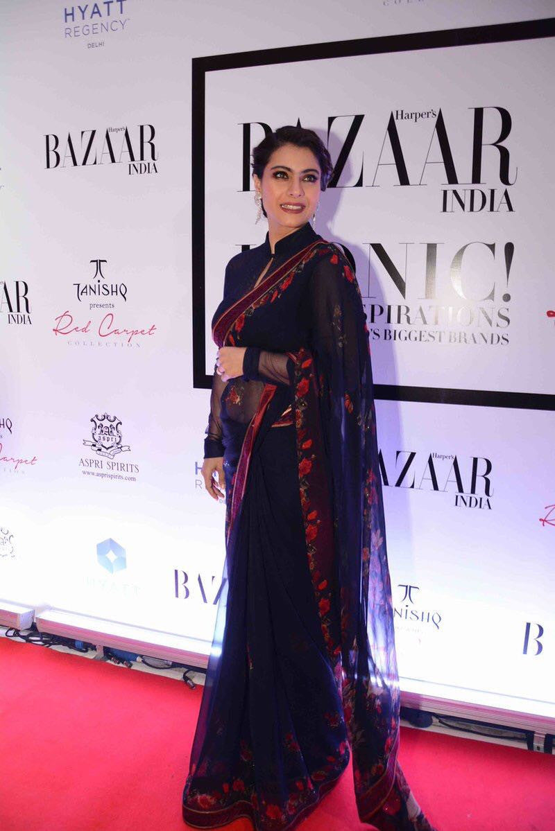 Kajol Looked Ravishing At The Launch Of Harper's Bazaar India Book