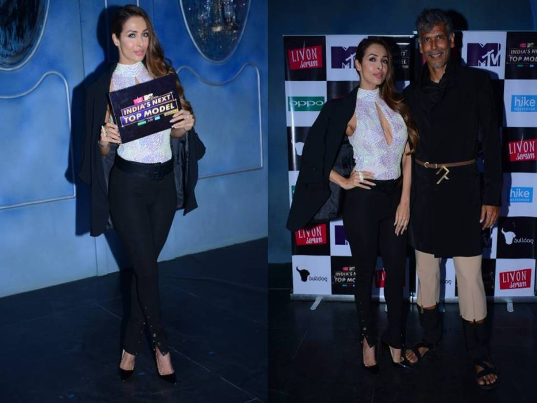 Check Out Malaika Arora's Sizzling Hot Avatar From The India's Next Top Model Event