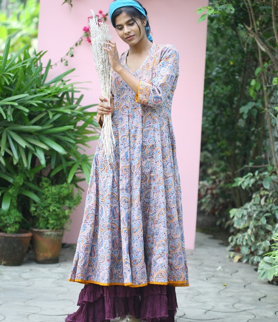 Best Printed Cotton Anarkali Kurtas Perfect For Summer Season