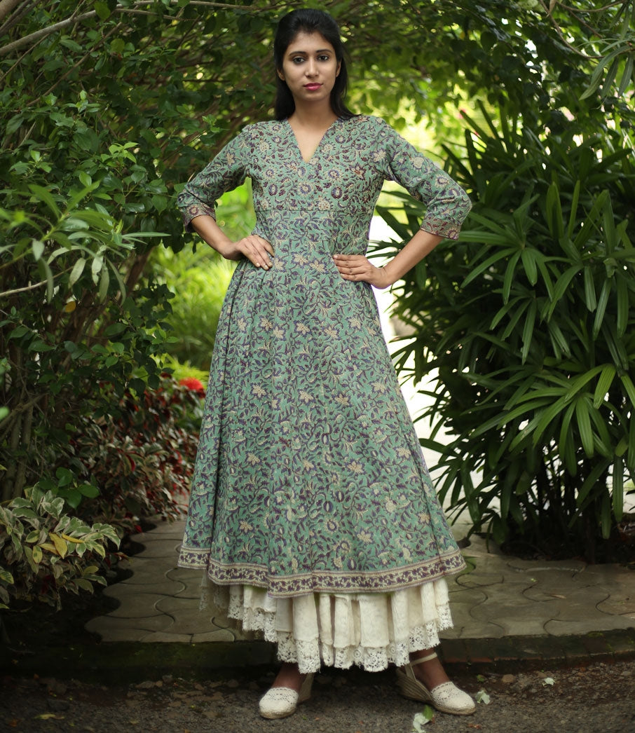 Cotton-Anarkali-Kurtis-Printed-Cotton-Anarkali-Kurta
