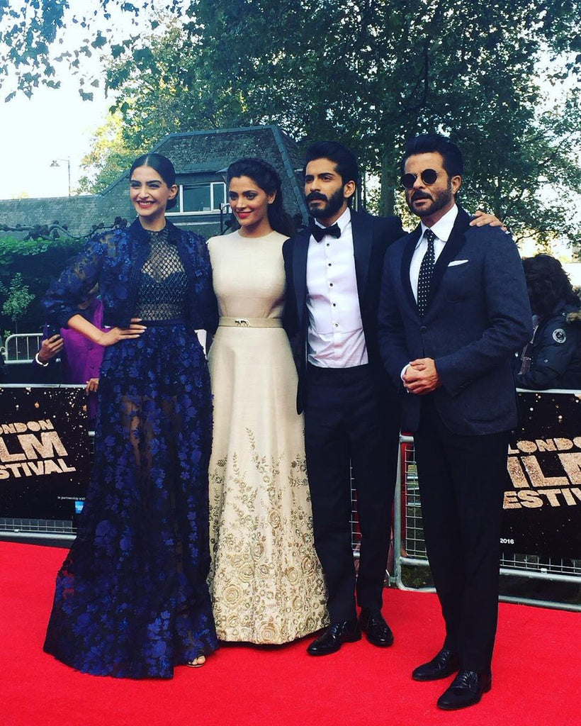 mirziya movie launch in london sonam-kapoor