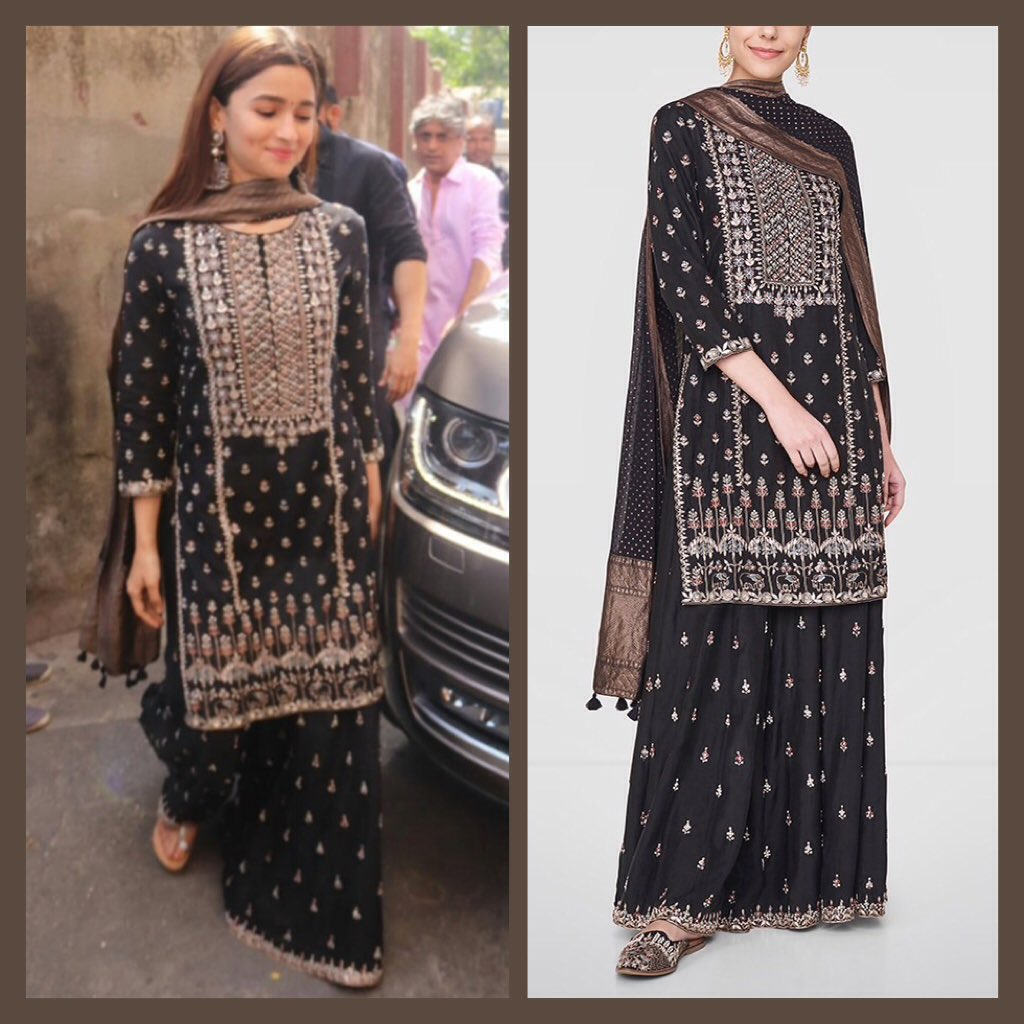 alia-bhatt-in-black-anarkali-suit