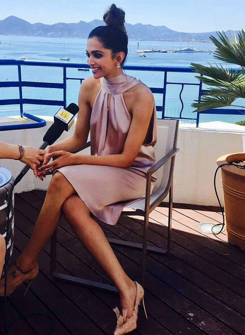 Deepika Padukone Looked Drop-Dead Gorgeous In Her Second Appearance At Cannes 2017
