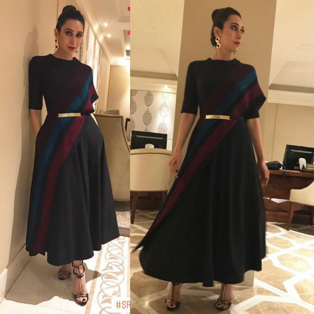 Karisma Kapoor's Easy And Casual Party Look In Urvashi Joneja
