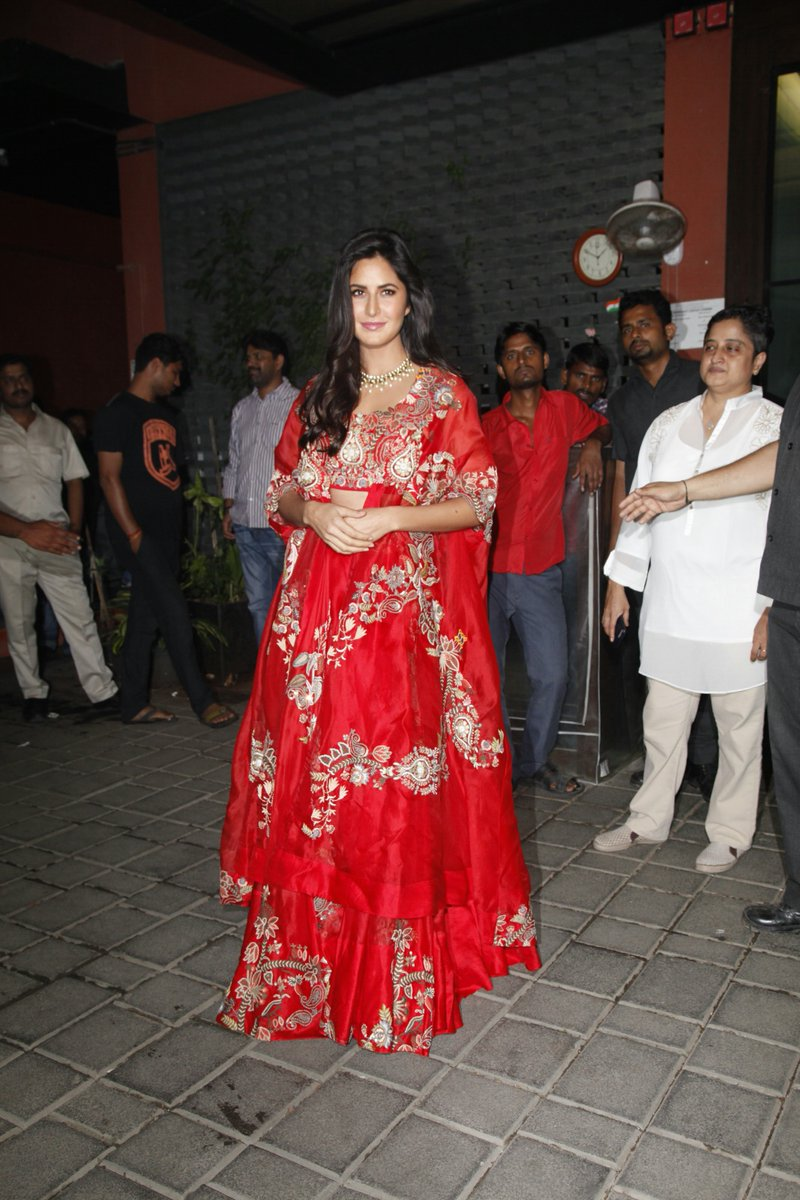 Katrina Kaif's Looked Stunning in Her Latest Diwali Style