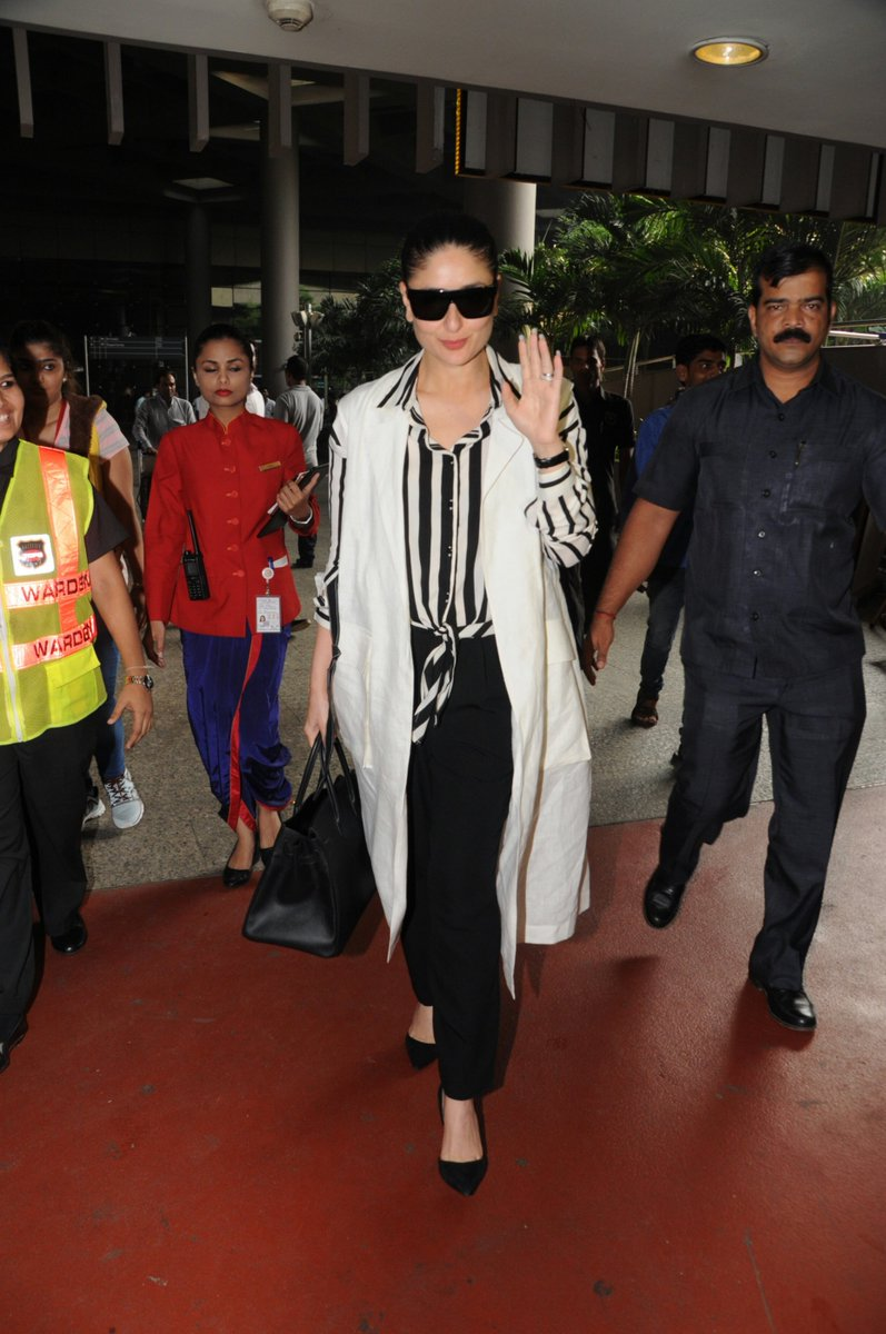 Kareena Kapoor Khan's Loked Pretty In Her Monochrome Look