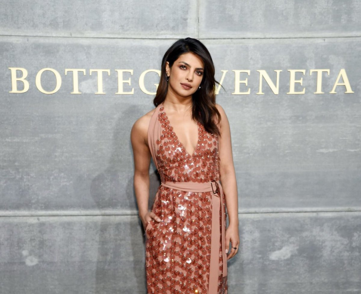 Priyanka Chopra at Newyork FAHION WEEK 2018