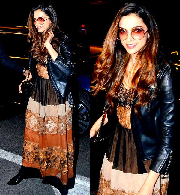 Deepika Padukon looking gorgeous in Alberta Ferretti's maxi dress