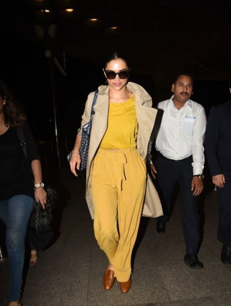 Deepika Padukone Looked Fabulous in Her Latest Travel Fashion Style