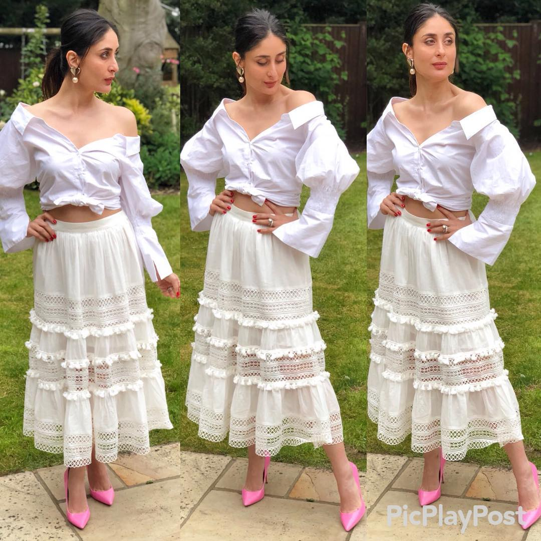Kareena Kapoor Khan's All white Look
