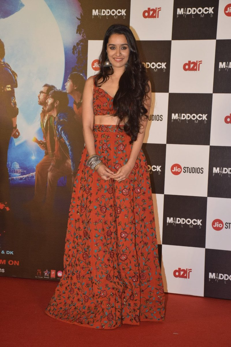 c218fd3aa094c Shraddha Kapoor in Nikhil Thampi s Crop Top and Matching Skirt ...