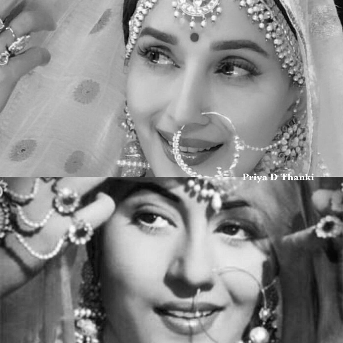 Madhuri-Dixit-Recreates-Madhubala-in-the-Sets-of-Dance-Deewane