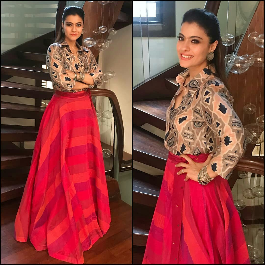 Kajol in Label Anushree