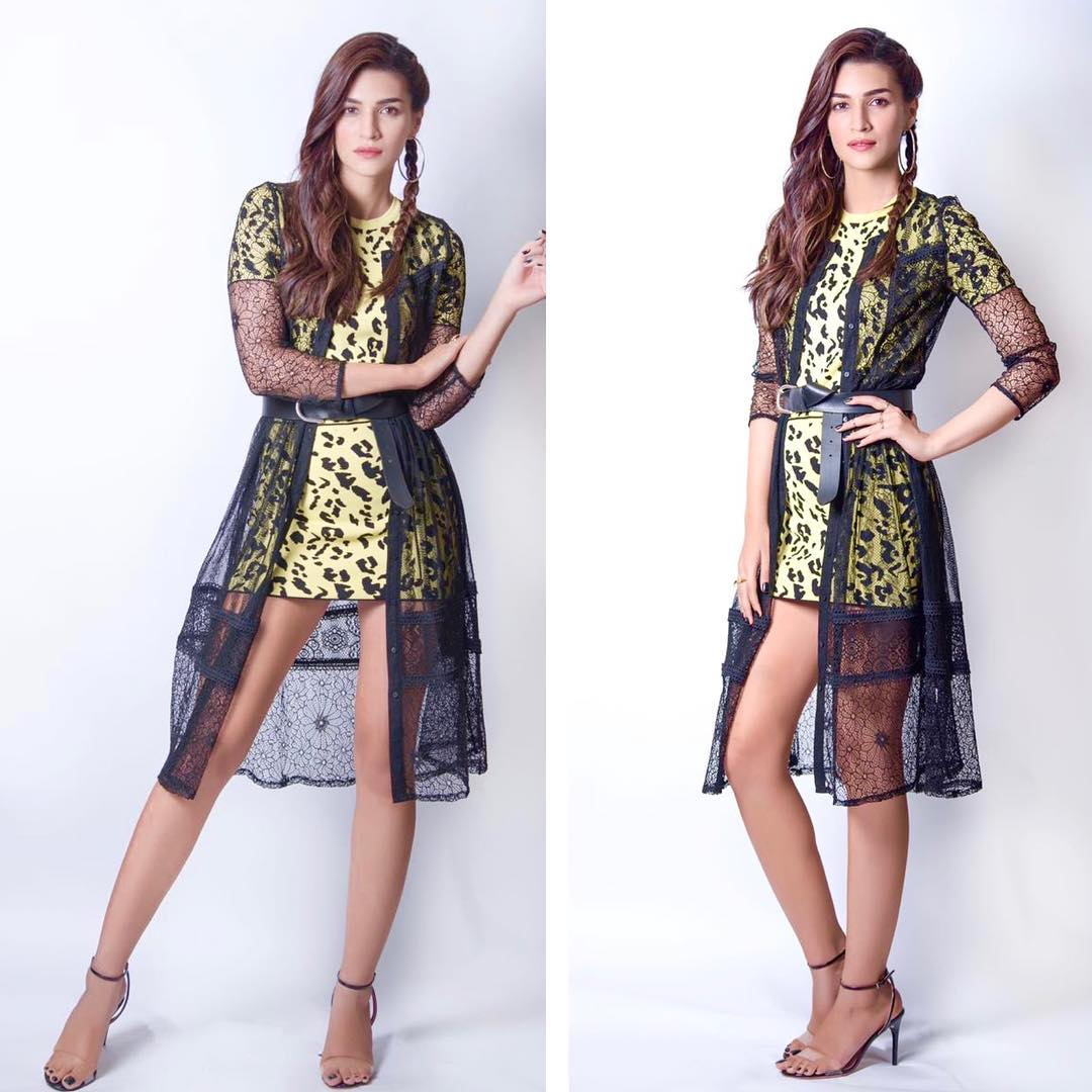 Kriti Sanon's Animal Print Mini Dress is a Must Have