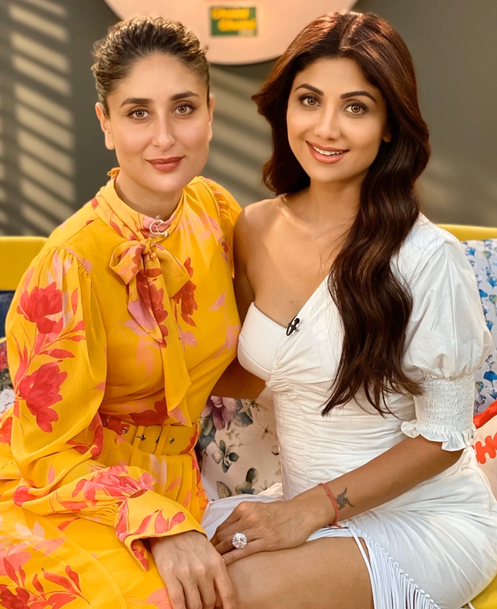 Kareena Kapoor Khan in Floral Printed Jumpsuit