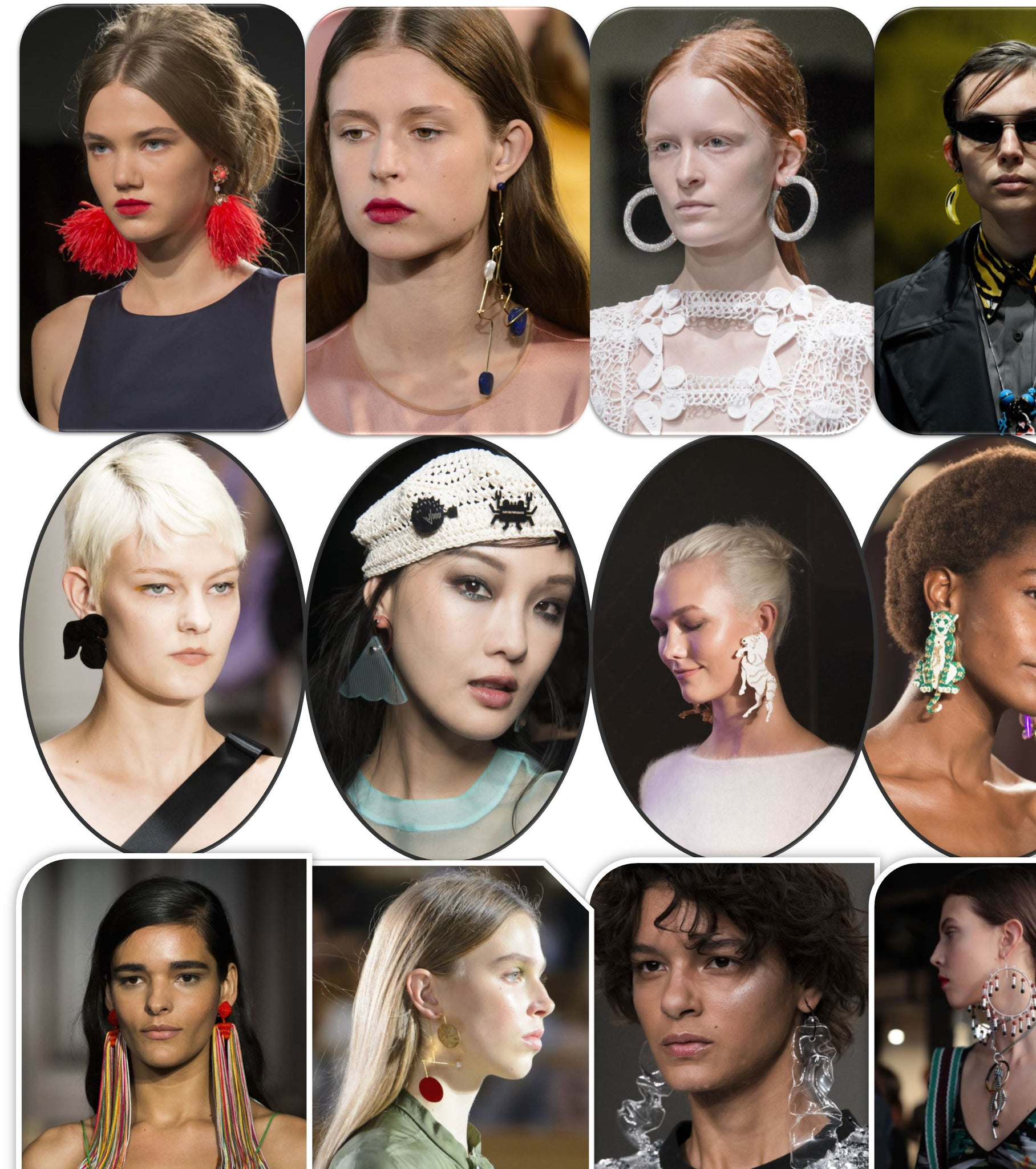 Milan Fashion Week Spring 2018 Earrings Fashion Trends in 2018