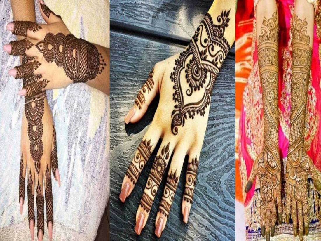 Karwa Chauth Special Indian Arabic Mehendi Designs
