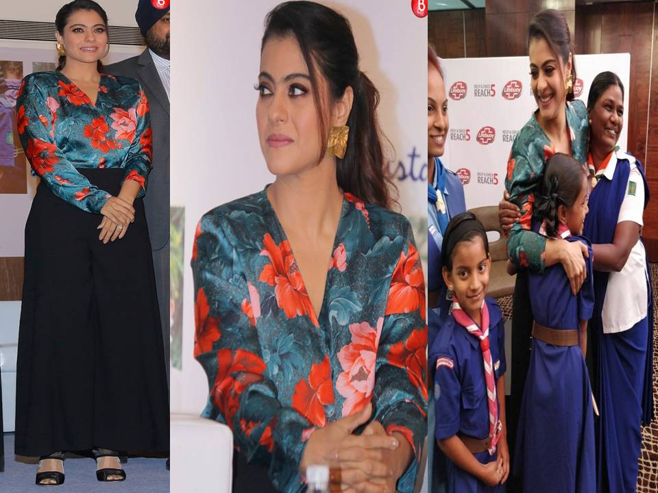 Not A Fan Of Florals? Kajol's Gorgeous Outfit'll Make You One