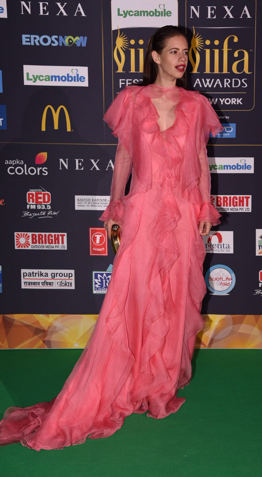 Kalki Koechlin Looked Lovely With<span> </span>Toe Ruffles Dress By Gucci