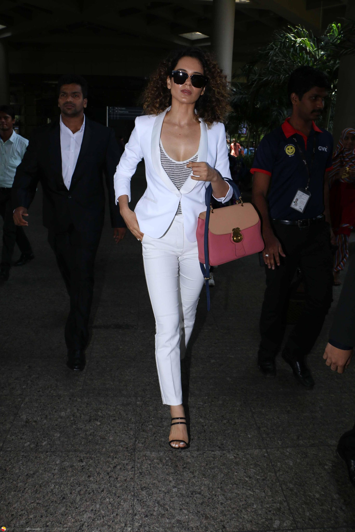 Kangana Ranaut Looks Like a Boss in Zara White Pantsuit