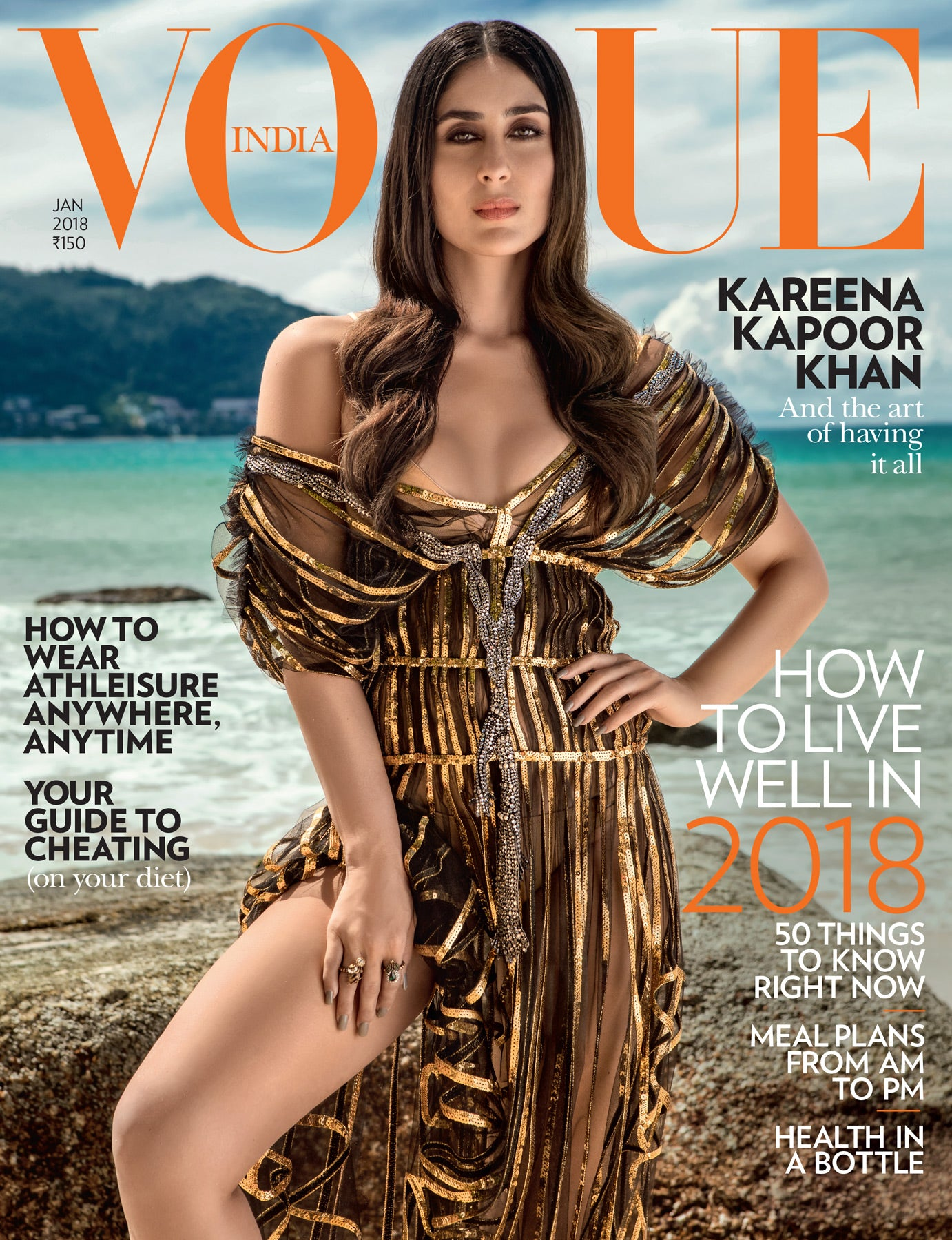 Kareena Kapoor's Looked Super Sexy At Vogue's Cover Girl Photoshoot