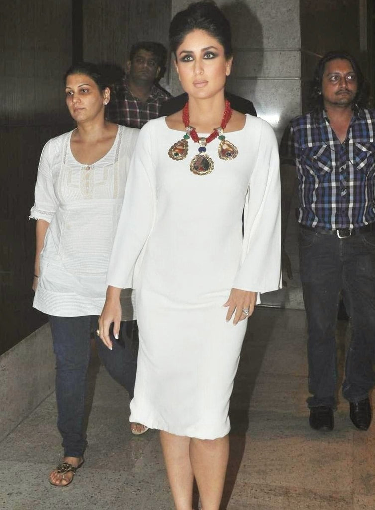 kareena-short-white-western-dress