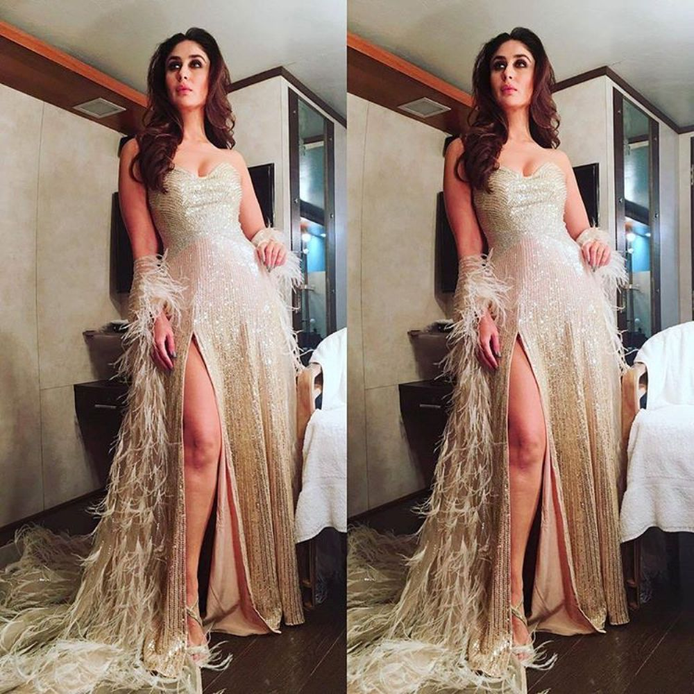 22949524324b8a Kareena Kapoor Looked Super Sexy In This Photoshoot For Lux Golden Rose  Awards