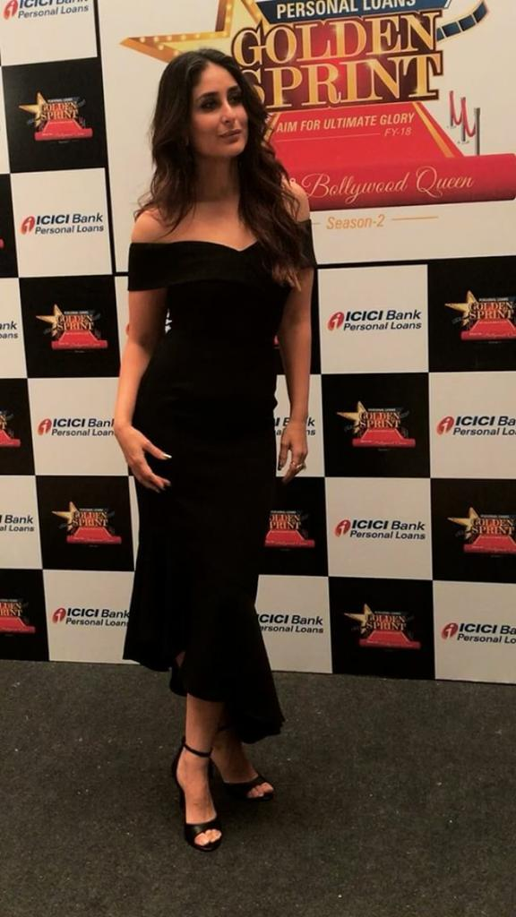 Kareena Kapoor's All Black Look At ICICI Bank Event
