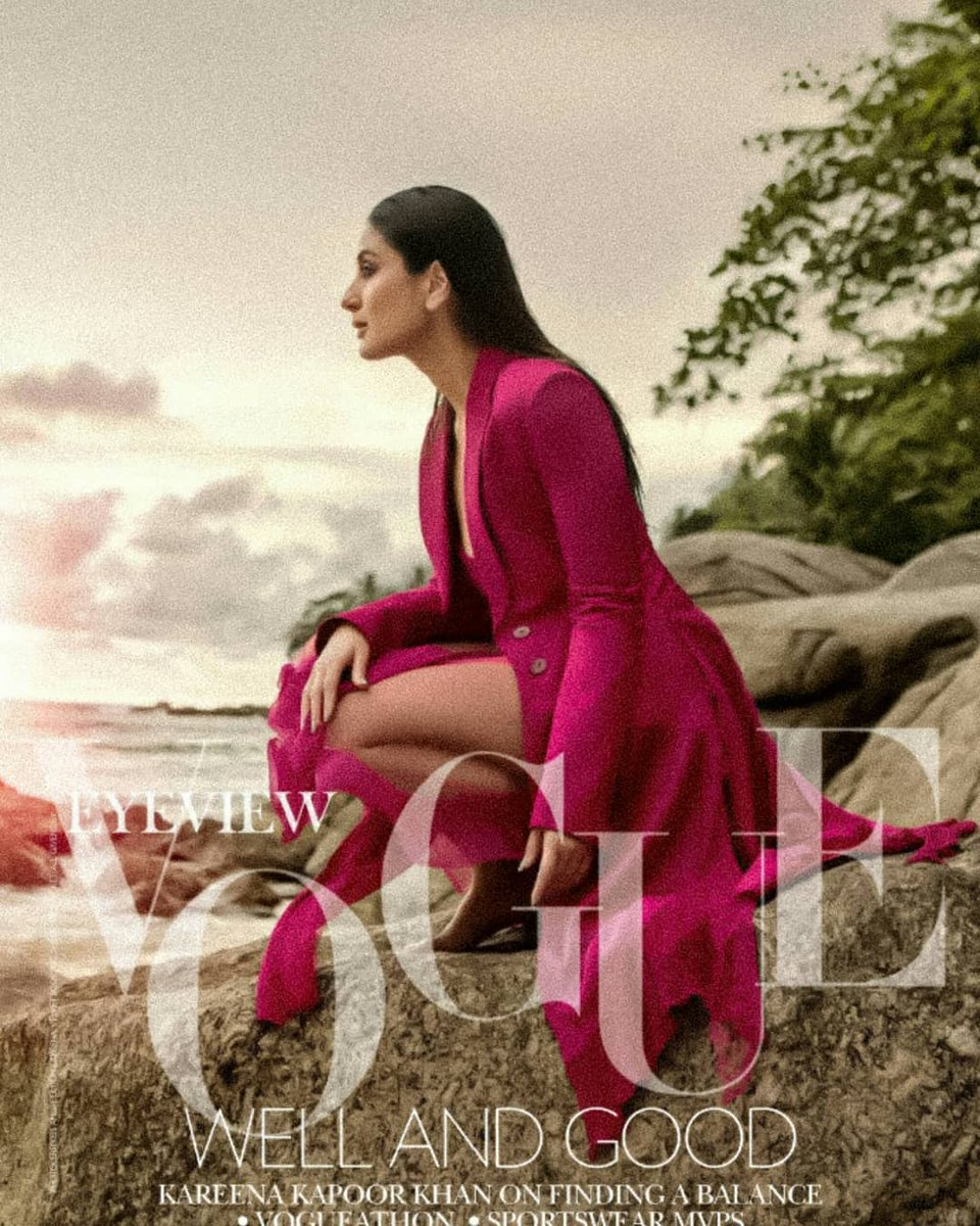 Kareena Kapoor Khan's Vogue Photoshoot Looks Fire On The Internet