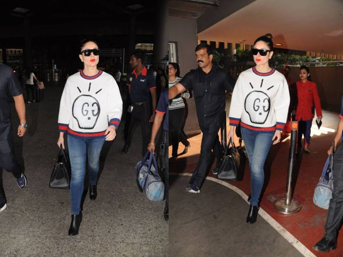 Kareena Kapoor Khan  Makes A Sharp Airport Style Statement For This Winter