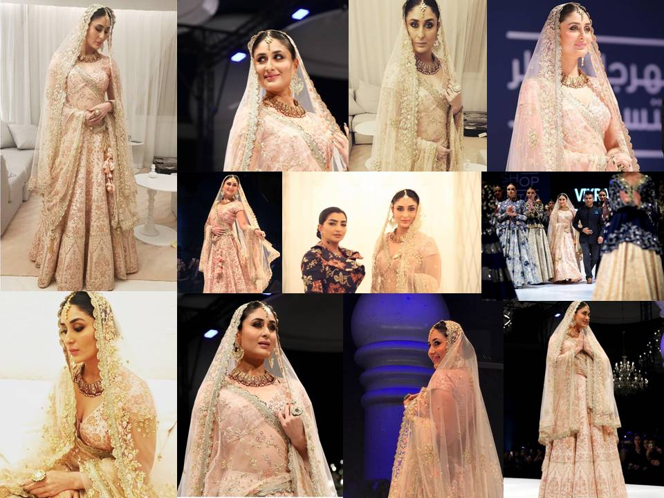 Kareena Kapoor Looked Beautiful & Fashionable In Vikram Phadnis's Bridal Outfit