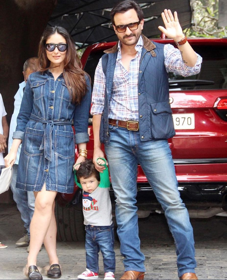 Kareena Kapoor Khan Just Worked On THE Most Glamorous Denim Shirt Dress