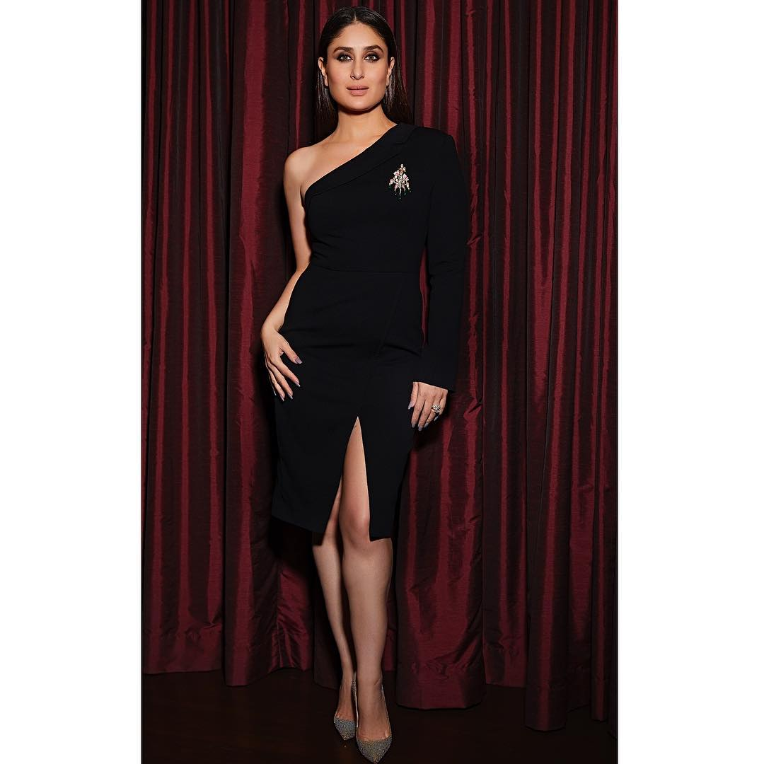 Kareena Kapoor Khan in Black Dress