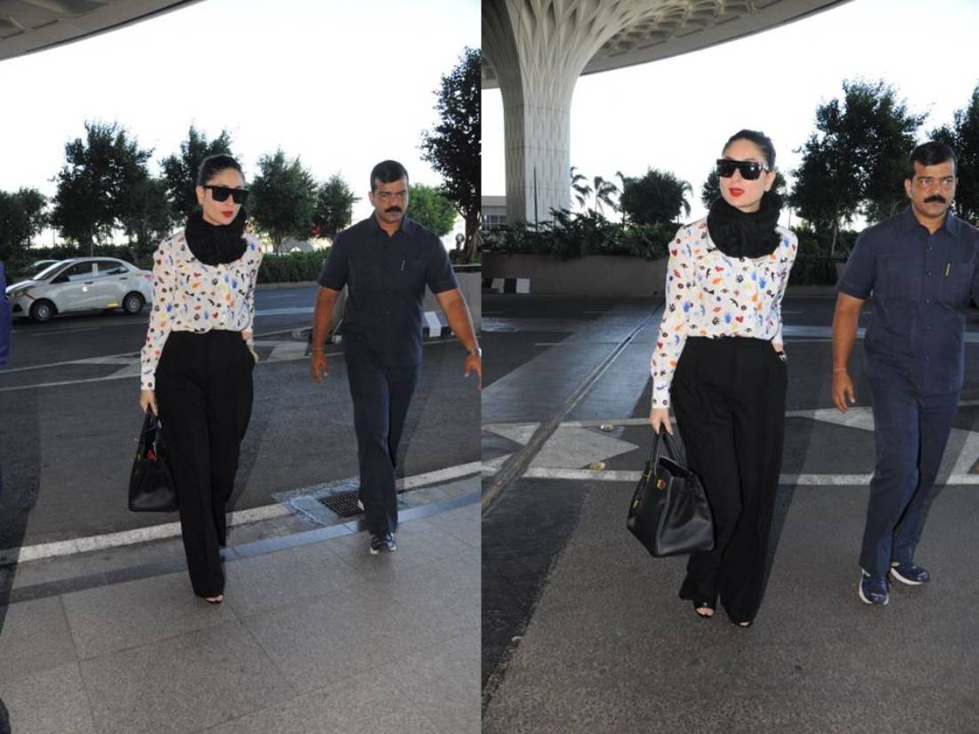 Hit Or Miss: Kareena Kapoor's Casual Airport Style