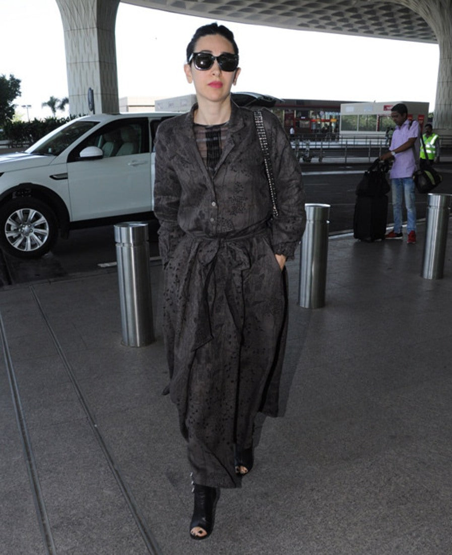 Karisma Kapoor Welcomes Winter In Trendy Style