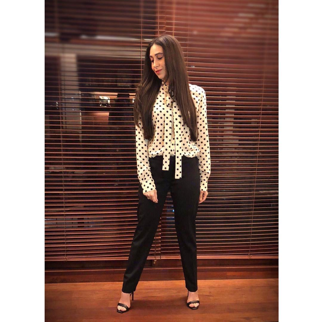 Karisma Kapoor Proved Us Polka Dots Can Never Go Out Of Fashion