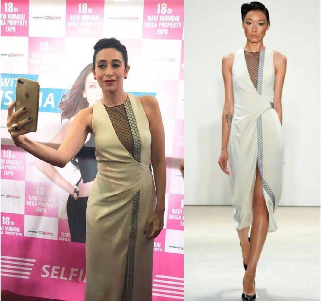 Karisma Kapoor Looked Absolutely Flawless In Bibhu Mohapatra's Outfit