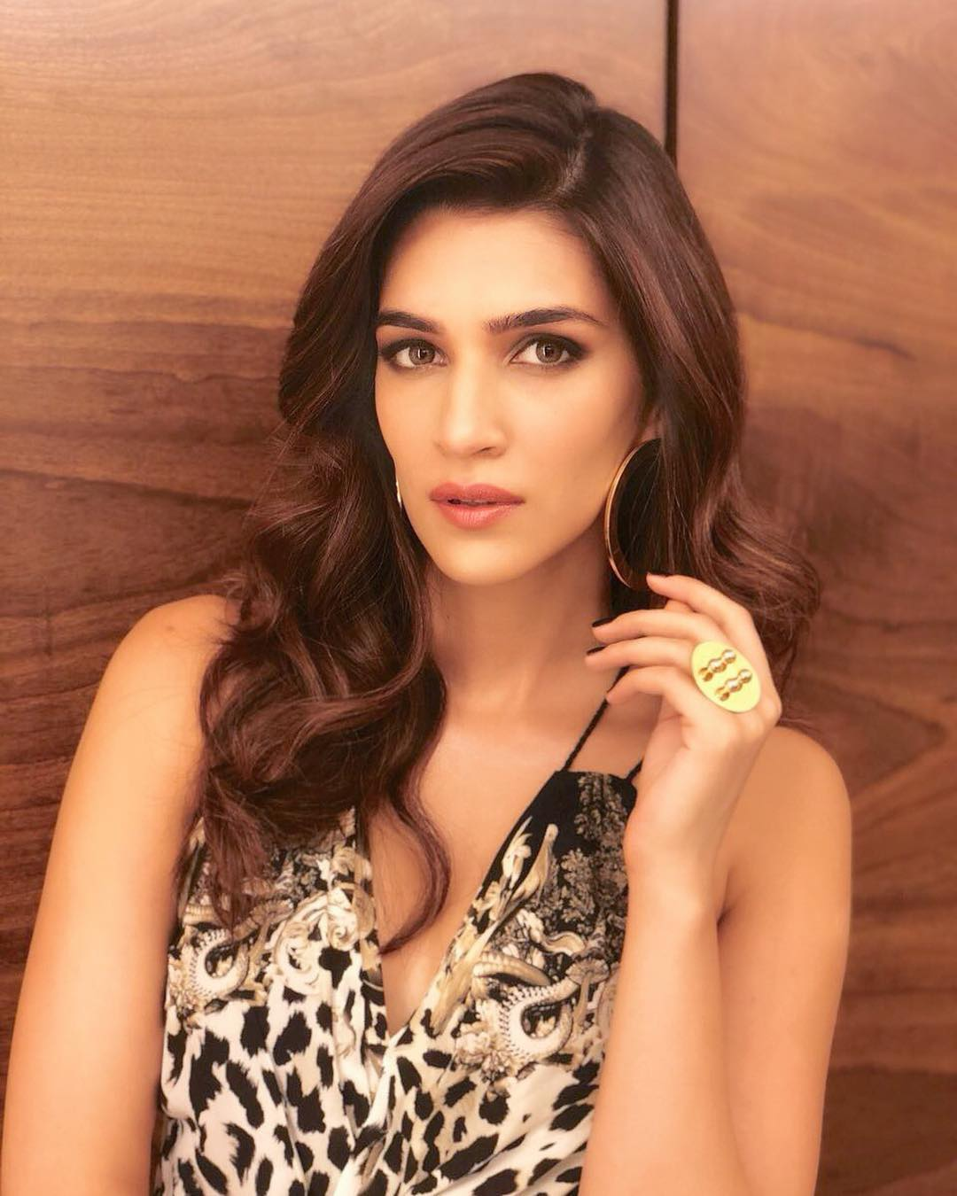 Kriti Sanon's style game is on fire and nothing says hotness better than animal print. The beauty embraces her wild side in a Roberto Cavalli