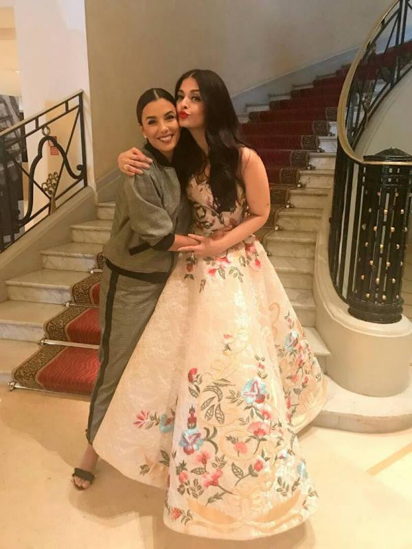 Aishwarya Rai Bachchan Looked Like A Floating Fairy In Mark Bumgarner's Gown At The Cannes Film Festival