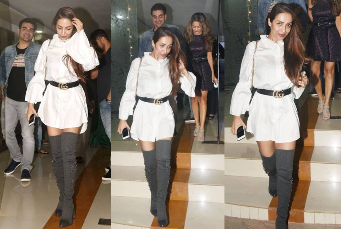 Malaika Arora Khan's Can we borrow your Stylish Boots  for This Winter